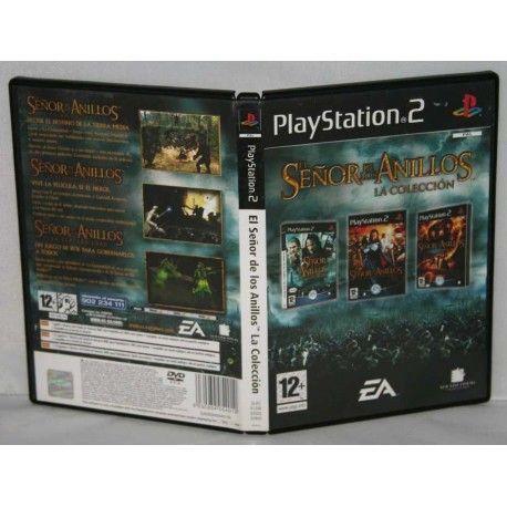 El Señor de los Anillos La Colección PS2