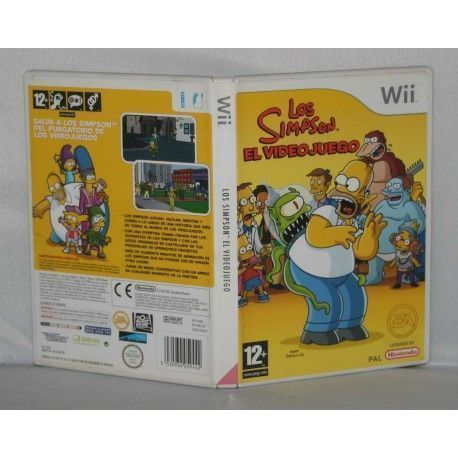 Los Simpson El Videojuego Wii