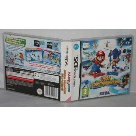 Mario & Sonic en los JJ.OO. De Invierno NDS
