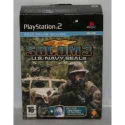 Socom 3 : Us Navy Seals + Head Set PS2