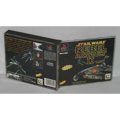 Star Wars: Rebel Assault II PS1