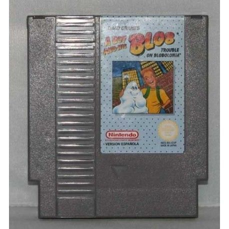 A Boy and His Blob: Trouble on Blobolonia NES
