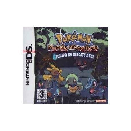 Pokémon: mundo misterioso: Equipo de rescate azul NDS