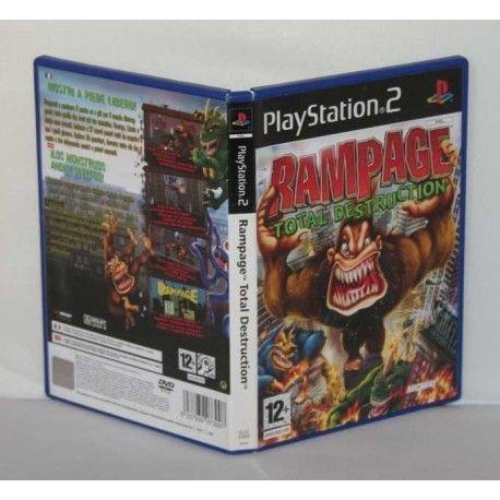 Rampage: Total Destruction PS2
