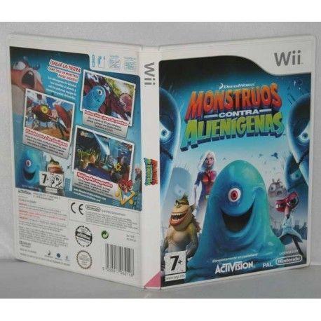 Monstruos contra Alienígenas Wii