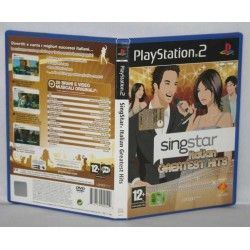 SingStar Italian Greatest Hits PS2
