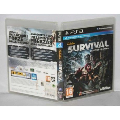 Cabela's Survival: Shadows of Katmai PS3