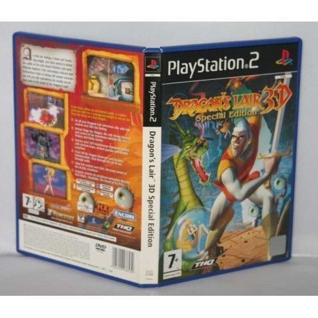 DRAGON LAIR 3D special edition PS2