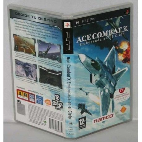 Ace Combat X Skies of Deception PSP