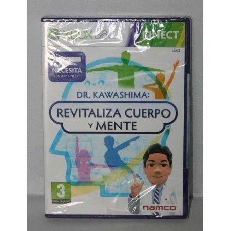 Dr. Kawashima: Revitaliza cuerpo y mente Xbox 360