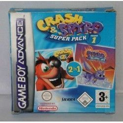 Crash & Spyro Super Pack Volume 1 GBA