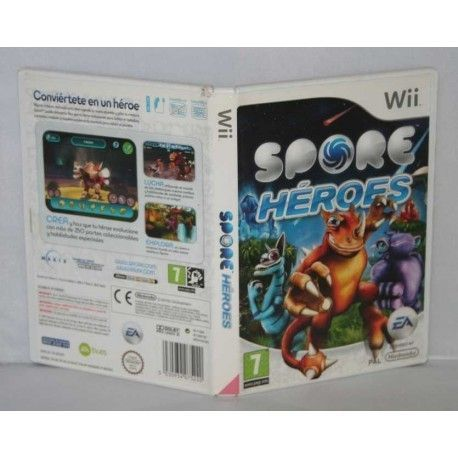Spore Héroes Wii