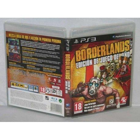 Borderlands Edición juego del año PS3