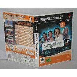 Singstar Operación Triunfo PS2