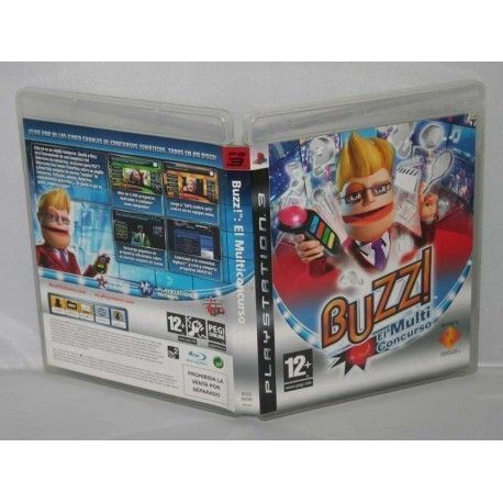 Buzz!: El Multiconcurso PS3