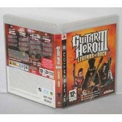Guitar Hero III: Legends of Rock PS3