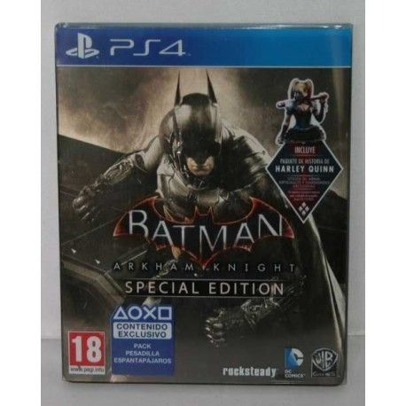 Batman Arkham Knight Special Edition PS4
