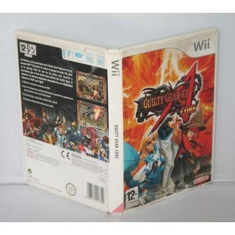Guilty Gear XX Accent Core Wii