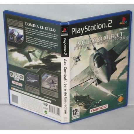 Ace Combat Jefe de Escuadrón PS2