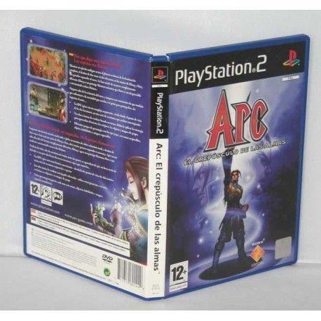 Arc El Crepúsculo de las Almas PS2