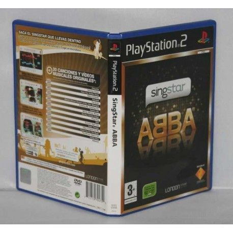 Singstar: ABBA PS2