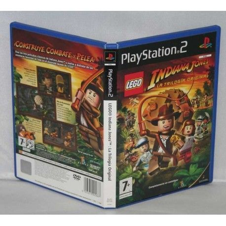 Lego Indiana Jones La trilogia original PS2
