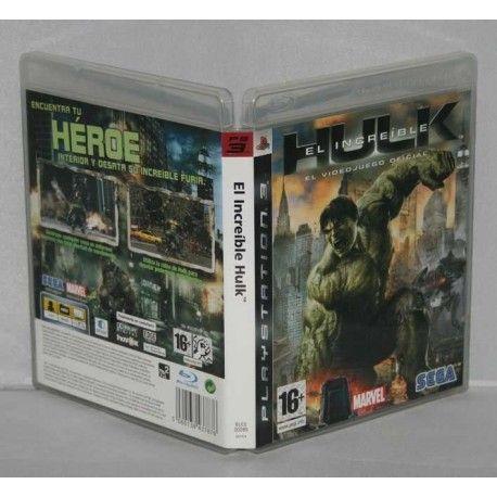 El Increíble Hulk PS3