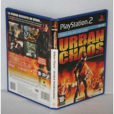 Urban Chaos: Unidad Antidisturbios PS2
