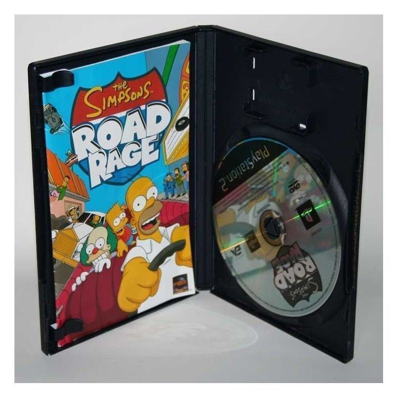 The Simpsons Road Rage Ps2