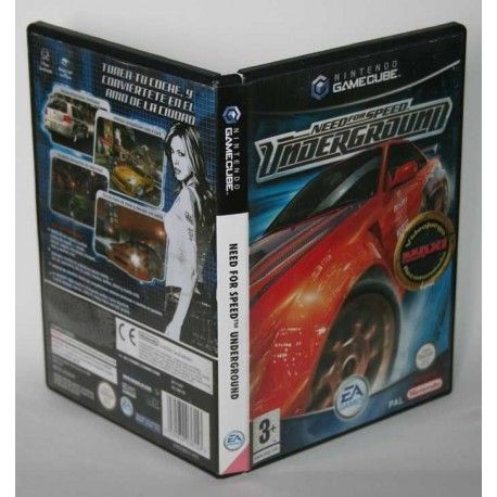 Need For Speed Underground Gamecube