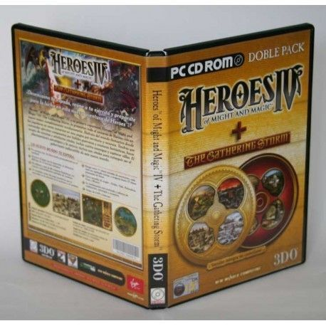 Heroes of Might and Magic IV + The Gathering Storm PC
