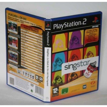 SingStar La Edad de Oro del Pop Español PS2