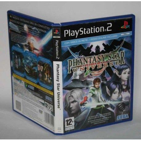Phantasy Star Universe PS2
