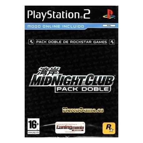 Midnight Club Pack Doble PS2
