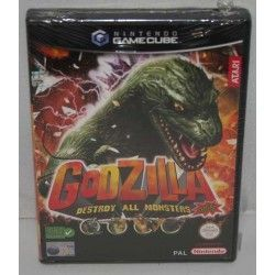 Godzilla Destroy All Monsters Melee Gamecube