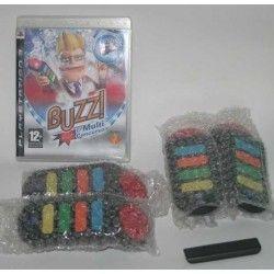 Buzz!: El Multiconcurso + Wireless Buzzers PS3