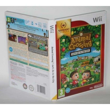 Animal Crossing: Lets Go To The City Wii