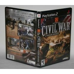 Civil War: A Nation Divided PS2