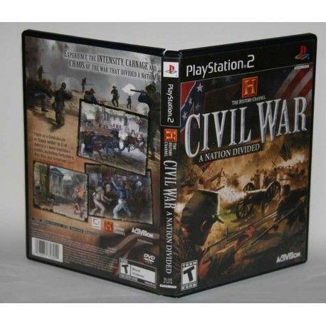 Civil War: A Nation Divided PS2