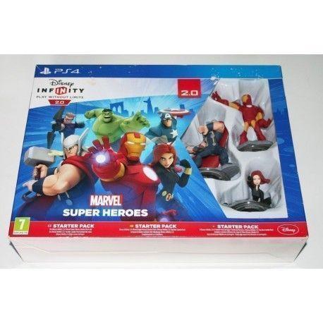 Disney Infinity 2.0 Marvel Super Heroes PS4