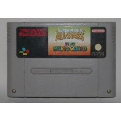 Super Mario All-Stars + Super Mario World SNES