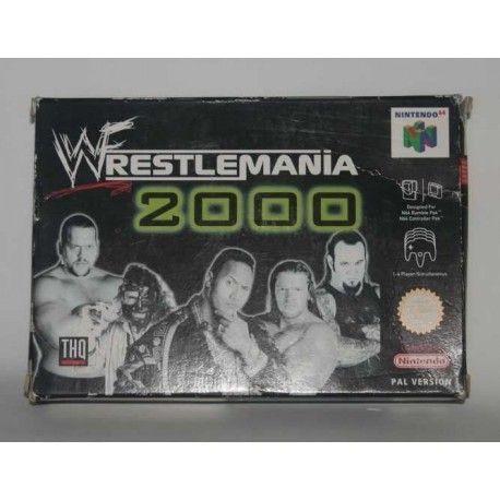 Wrestlemania 2000 N64