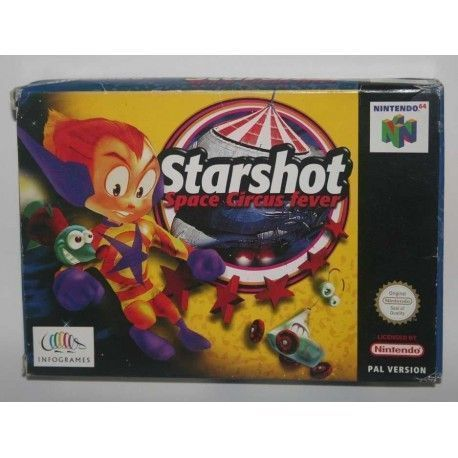 Starshot: Space Circus Fever N64