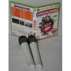 Lips: Canta en Español + 2 micrófonos inalámbricos Xbox 360