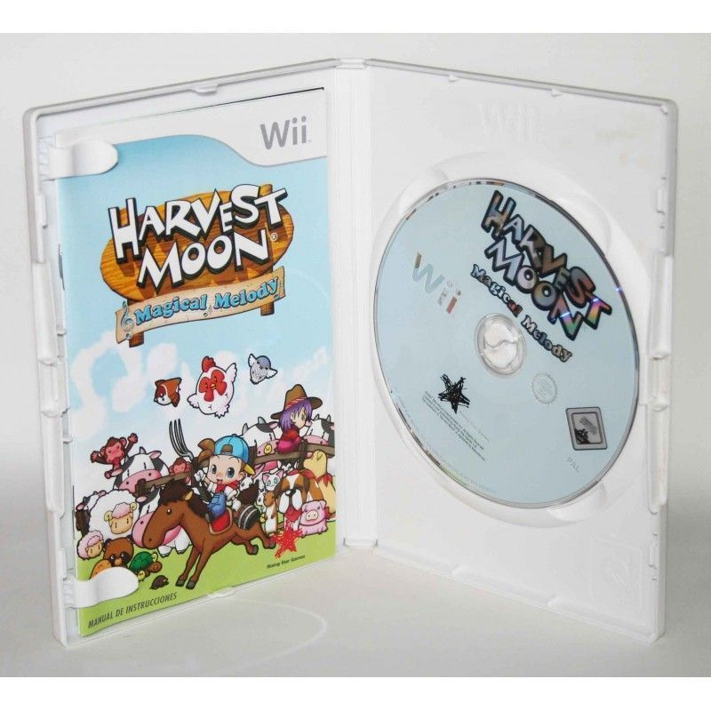 Harvest Moon game Boy manual