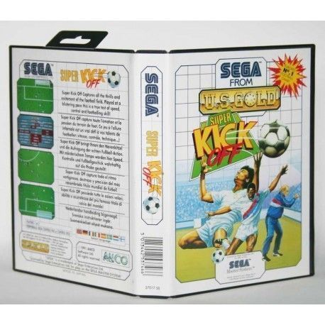 Super Kick Off Master System
