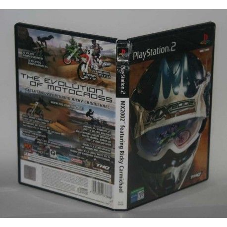 MX 2002 featuring Ricky Carmichael PS2