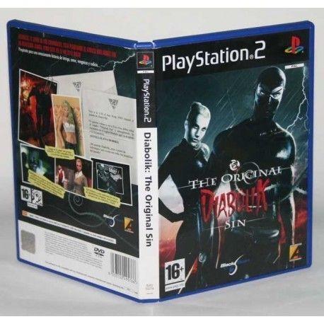 Diabolik The Original Sin PS2