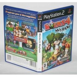 Worms 4: Mayhem PS2