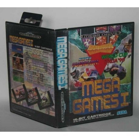 Mega Games 1 Megadrive